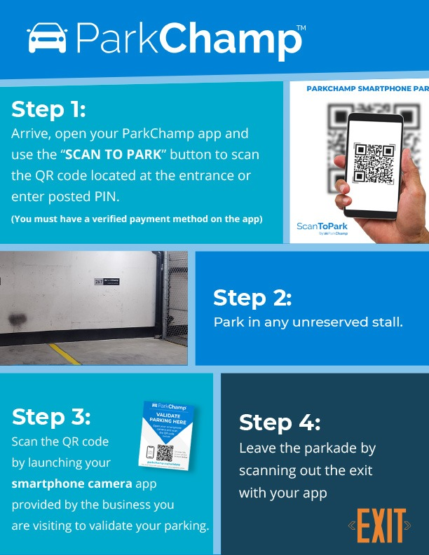 Canterra Dental Parking Instuctions